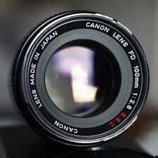Splendido Canon FD S.S.C 100mm f 2.8 focale fissa, messa a fuoco manuale