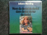 Juliane Werding - Wenn Du denkst dann denkst du nur LP