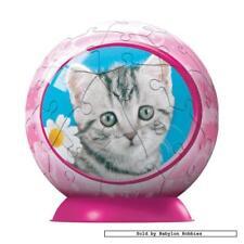 60 st puzzel: Puzzleball - Cute Kitten (Katten) (Ravensburger 097067-3)