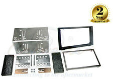 CT23SA03 Car Stereo Double DIN Fascia Adaptor Fitting Kit For Saab 9-3 2006-2014