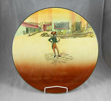Fabulous Extremely Rare  Royal Doulton Dickens Ware Alfred Jingle large Platter