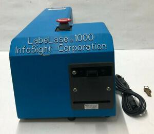 Infosight Labelase 1000 Single Feed Metal Tag Printer