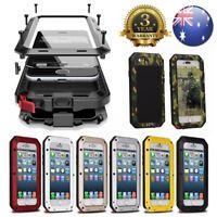 HEAVY DUTY Shock proof Bumper Metal Cover Case Waterproof iPhone Samsung 5 6 7 X