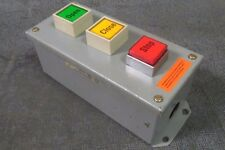 SQUARE D CONTROL STATION 600 VAC   CLASS 9001 MODEL: KYAF-3 SERIES F