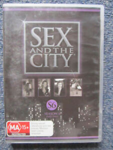 DVD SEX AND THE CITY SEASON 6 PART 2    GREAT  *** MUST SEE ***