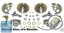 1964-72 Pontiac GTO / LeMans Manual Disc Brake Conversion Without Booster