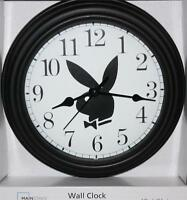 """PLAYBOY CLOCK-NEW-8/12"""" IN DIAMETER-BATTERY OPERATED-DISCOUNT PRICING"""