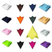 Formal Suit For Wedding Dress Party Handkerchief Silk Pocket Square Hanky