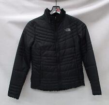 North Face Womens Mossbud Swirl Revrsbl Jacket A33PL TNF Black Size Small