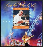 Mali 2018 CTO Genesis Phil Collins 1v M/S Music Celebrities Famous People Stamps