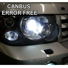 *RANGE ROVER VOGUE L322 HID XENON WHITE CREE LED SIDELIGHT BULBS 8SMD ERROR FREE