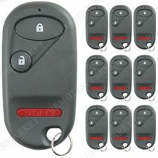 Lot 10 Wholesale Bulk Remote Key Fob for Honda 2001-2005 Civic 2003-2007 Pilot