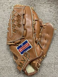 """DUNLOP 889/518 MVP 12.5 """" Baseball Glove Mitt RHT Right Top grade Leather"""