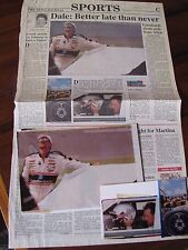 Dale Earnhardt Sr. 1994 Daytona News Journal Sports 2 Original Positive Photo's