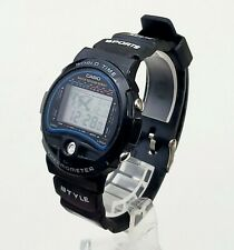 RARE,UNIQUE Men's JAPAN DIGITAL Watch CASIO (815) TS-100.World Timer.Thermometer