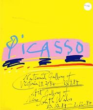 Picasso - National Gallery Victoria 28.7.84 - 23.9.84 Catalogue, Art, Pablo