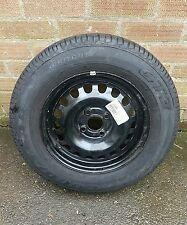 """VAUXHALL ASTRA CORSA 14"""" steel RIM 4 Stud Full Size ruota di scorta 2150143"""
