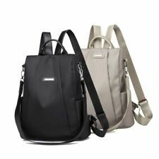 Women Travel Backpack Anti-Theft Rucksack Waterproof Oxford Cloth School Bag US