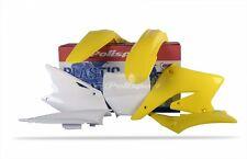 Suzuki Plásticos Kit H. 250 2004 - 2005 OEM amarillo blanco motocross MX 90096