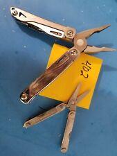 2 LEATHERMAN  SIDEKICK & MICRA  Multi Tool    Lot  402