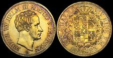 GERMANY PRUSSIA 1823-A 1 Thaler - Awesome Gold Tone Superb Condition