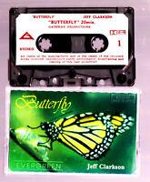 Jeff Clarkson Butterfly - Cassette Tape Vintage