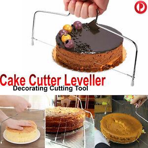 Wire Slicer Cake Cutter Leveller Leveler Decorating Cutting Decorator Tools AU