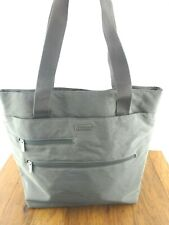 Baggallini Tote Bagg Shoulder Bag/Purse Gray With Yellow Lining EUC MTT895PT