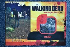 Walking Dead Season 1 M16 007/175 Summit Variant Walker Wardrobe Trading Card