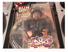 Mezco Toy RUN DMC Figure Statue Lot 3 Set Autograph Singed Rare HIPHOP