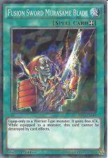 YU-GI-OH: FUSION SWORD MURASAME BLADE - SHATTERFOIL RARE - BP03-EN143 - 1st ED