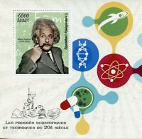 Madagascar Science Stamps 2019 MNH Albert Einstein Physics 1v S/S