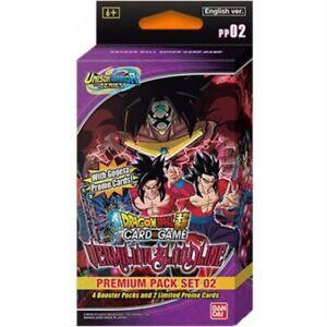 Bandai Dragon Ball Super Card Game Vermilion Bloodline Premium Pack