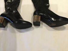 e57e976fe362 DAISY STREET PENNY DETAIL HEEL OVER THE KNEE BOOTS Women s Shoes - UK Size 7