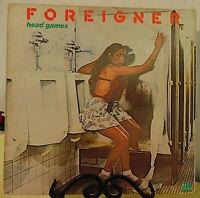 Foreigner – Head Games-1979 Atlantic #SD29999 -Classic Rock Vinyl LP - VG+/VG+