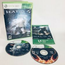 Halo 4 (Microsoft Xbox 360, 2012) 343 Industries 2 Disc Very Good Condition Case