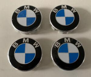 4 x Centre Wheel Caps for BMW 68mm E90 E92 E93 M2 M3 M4 M5 M6 318i 320i 320d X5