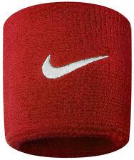 Nike Swoosh Schweissband 9380/4 601 Rot/weiss