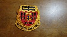 U S ARMY  5TH ARTILLERY  CCC CCN RECON TANKERS   PATCH  BX T 2