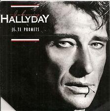 "45 TOURS / 7"" + BULLETIN --JOHNNY HALLYDAY--JE TE PROMETS / TU PEUX CHERCHER"