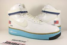 NIKE AIR FORCE 1 HIGH BDAY QS USED SIZE 11.5 PRESIDENT BIRTHDAY 573752 100