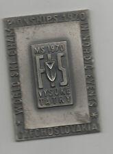 Orig.Teilnehmermedaille  Nordische Skiweltmeisterschaft VYSOKE TATRY (CSSR) 1970