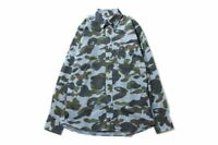 BAPE 1st Camo x Gingham Check Shirt button down collared A bathing Ape 2013 MED
