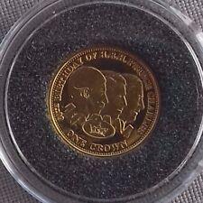 Tristan de Cunha 999 gold crown 2008 - Prince Charles 60th Birthday PP. 1,24 gr