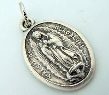 "Our Lady of Guadalupe Inspirational Religious Charm Medal Pray For Us 1"" Pendant"