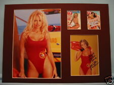 Pam Anderson in Baywatch signed  Kelly Packard - April