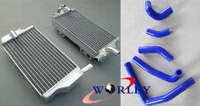 FOR Honda CR250 CR250R 2002 2003 2004 02 03 04 Aluminum Radiator and Hose