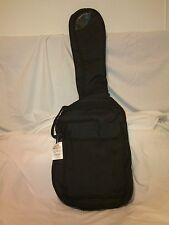 Lot Of 10 Electric Guitar Soft Cases Padded, Black Nylon, Ext Pocket Strap-New!