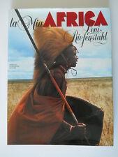 LENI RIEFENSTHAL LA MIA AFRICA MONDADORI 1983 1° EDIZIONE