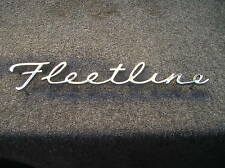 New Replacement Chevrolet Fleetline Trunk Emblem For 41 42 46 47 48 Chevrolet Fits 1948 Fleetline